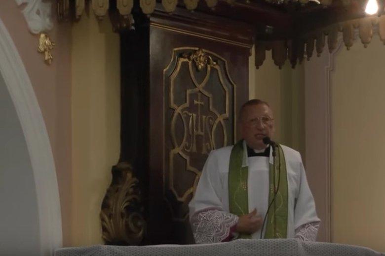 Ks. Roman Kneblewski z Bydgoszczy broni ks. Jacka Międlara.