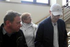Tomasz Komenda z mamą po uwolnieniu z więzienia.