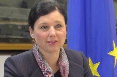 Věra Jourová w mocnych słowach odniosła się do wydarzeń podczas Marszu Równości w Białymstoku.