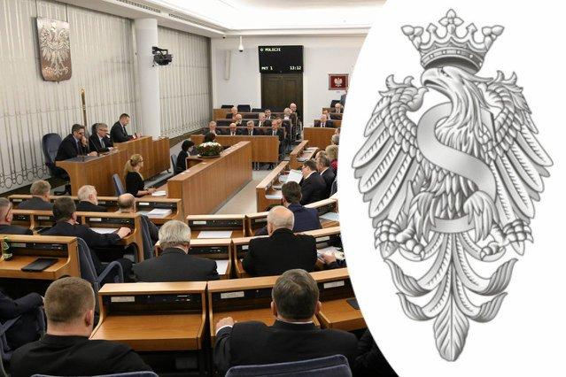 Logo Senatu ma zostać odświeżone przez artystę grafika. Wartość kontraktu to ponad 110 tysięcy złotych.