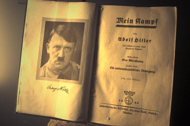Są kraje, gdzie e-booki Mein Kampf są bestsellerami.