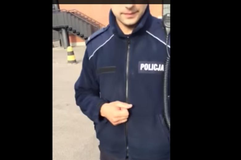 Mężczyzna z Gdańska próbuje udowodnić, że policja nie ma racji.