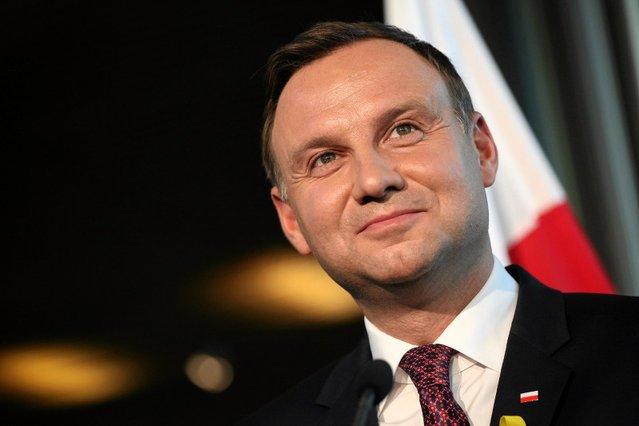 Prezydent Andrzej Duda zdobył uznanie 9 proc. Polaków.