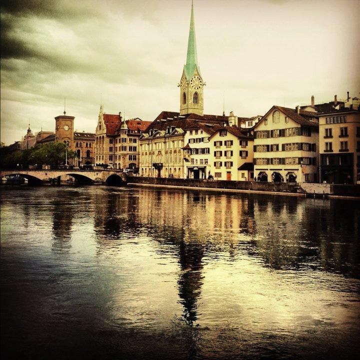Stare miasto (Altstadt) w Zurychu