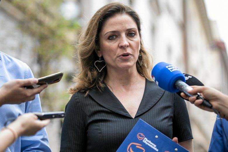 Joanna Mucha po raz kolejny zasugerowała, że potrzebny jest nowy szef PO.