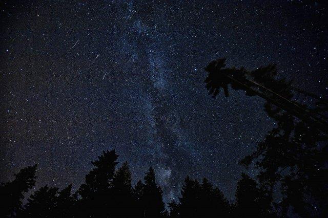To co obserwujemy na niebie to nie spadające gwiazdy, ale inne ciekawe zjawisko astronomiczne