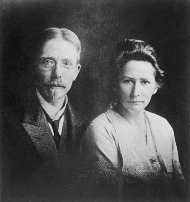 Marie i August Krogh