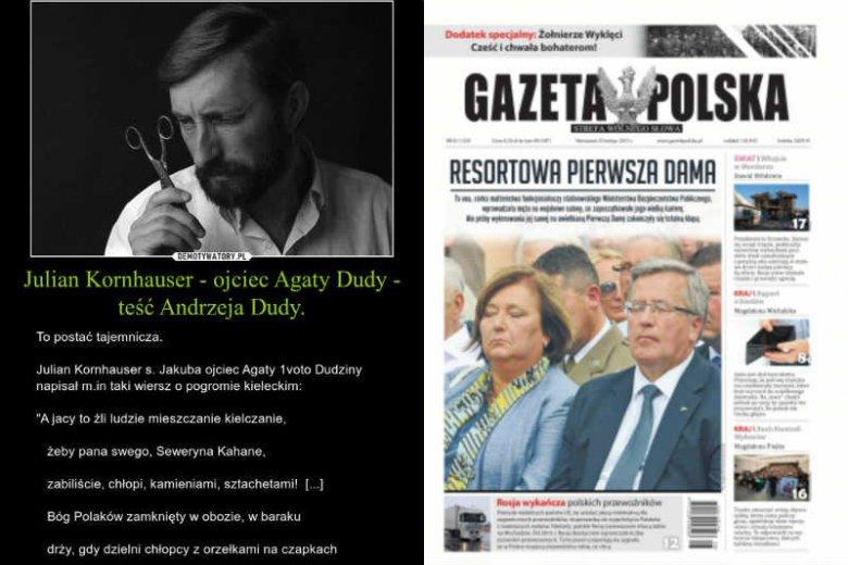 Mieczem wojujesz, od miecza giniesz. Przeciwnicy PiS wykorzystali metody od lat stosowane przez związane z partią media - zlustrowali rodzinę Andrzeja Dudy.