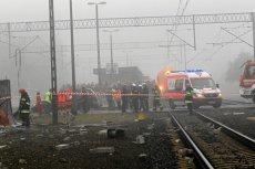 W wypadku pociągu Intercity koło Ozimka na Opolszczyźnie zginął kierowca ciężarówki.