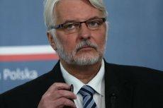 Witold Waszczykowski skomentował słowa minister obrony Niemiec Ursuli von der Layen.