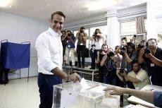 Jeśli sondażowe wyniki potwierdzą się to nowym premierem Grecji zostanie  Kiriakos Micotakis.