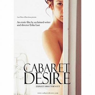 """Subtelna okładka filmu """"Cabaret Desire""""/ Reż. Erika Lust"""