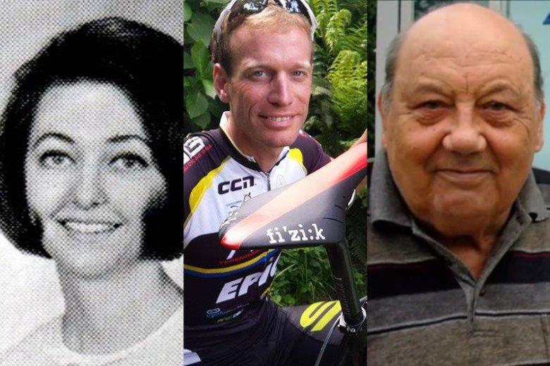 Joan R. Ginther, Maarten de Jonge i Frane Selak to bez wątpienia najwięksi szczęściarze świata.