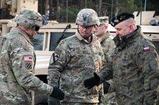 Pierwsi amerykańscy żołnierze w Polsce jużsą.