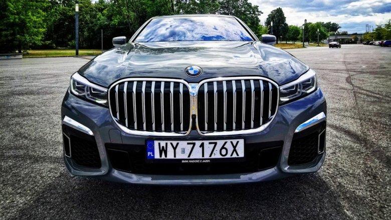 Grill nowego BMW serii 7 to najbardziej kontrowersyjny element tego modelu.