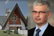 Przed kościołem NMP Królowej Polski w Świdnicy współpracownicy posła Ireneusza Zyski rozdawali ulotki z cukierkami – także dzieciom.