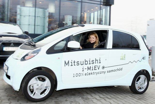 Iza Miko wybrała Mitsubishi i-MiEV. Ja też, jeśli będzie tańsze