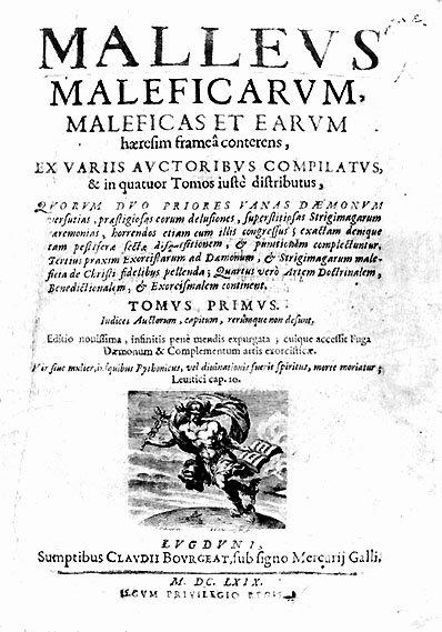 """Malleus Maleficarum"" / ""Młot na czarownice"" Heinricha Kramera (1486)"