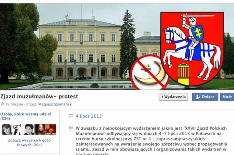 Zjazd polskich muzułmanów wywołuje protesty
