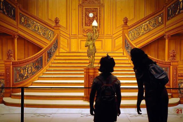 Wystawa Titanic. Excibition wiosną w Warszawie