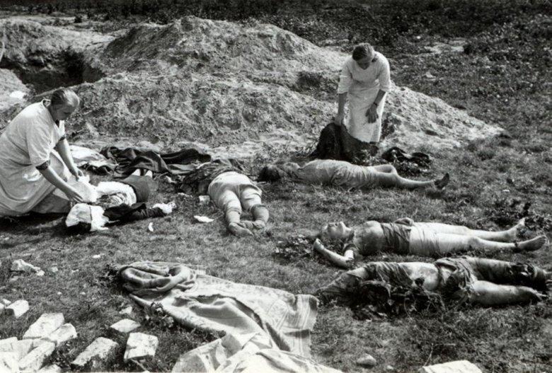 Ofiary ostrzału ludności cywilnej Warszawy przez Luftwaffe