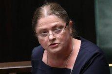 Krystyna Pawłowicz podziękowała Markowi Kuchcińskiemu za cztery lata pracy.