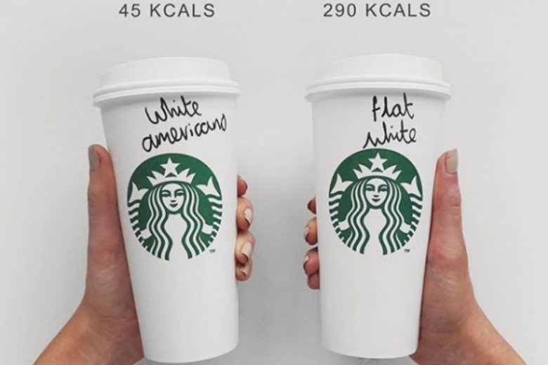 Kawa z mlekiem to kawa z mlekiem? Niekoniecznie! Wartość kaloryczna kaw, które kupujemy na co dzień może bardzo się wahać