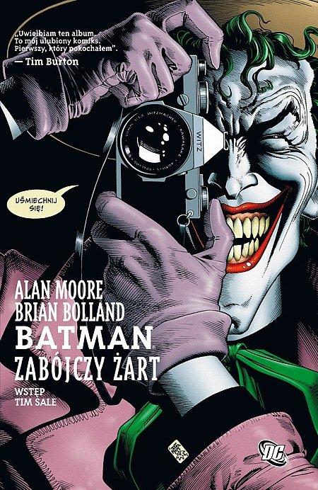 """okładka albumu """"Batman: Zabójczy żart"""""""