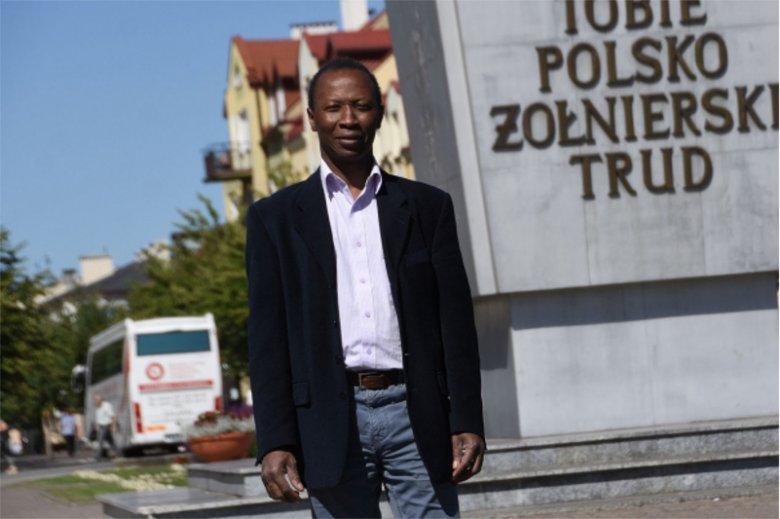 Emanuel Kalejaiye ogłosił niedawno swoją kandydaturę na urząd prezydenta Włocławka.