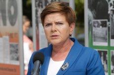 Beata Szydło doczekała się artykułu w Politico