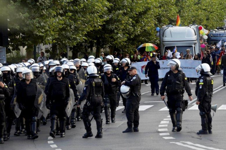Narodowcy robili wszystko, by przerwać Marsz Równości w Katowicach.