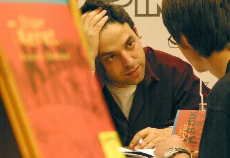 Etgar Keret na spotkaniu z czytelnikami