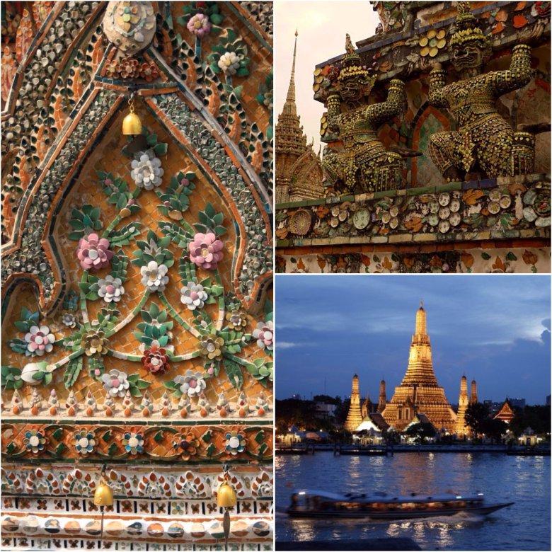 Wat Arun. Bangkok/ Tajlandia