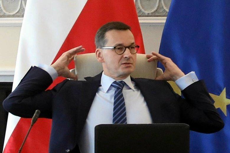 Mateusz Morawiecki przypisał sobie sukces dyplomatyczny po tym, jak zawarto porozumienie w sprawie brexitu.