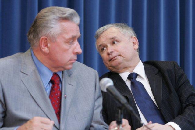 """To niewiarygodne, co Lepper mówił o Kaczyńskim 10 lat temu. Kontrola nad Trybunałem, nad sędziami to już wtedy było """"wielkie marzenie Jarosława""""."""