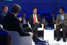 """Jak technologie zmienią rynek pracy? Jak rządy powinny się do tego przygotować? To główne zagadnienia, nad którymi debatowali uczestnicy panelu """"Świat bez pracy?"""" organizowanego przez NHK"""