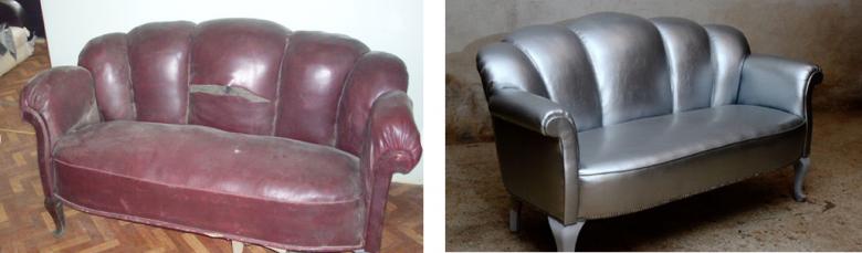 kanapa przed i po...
