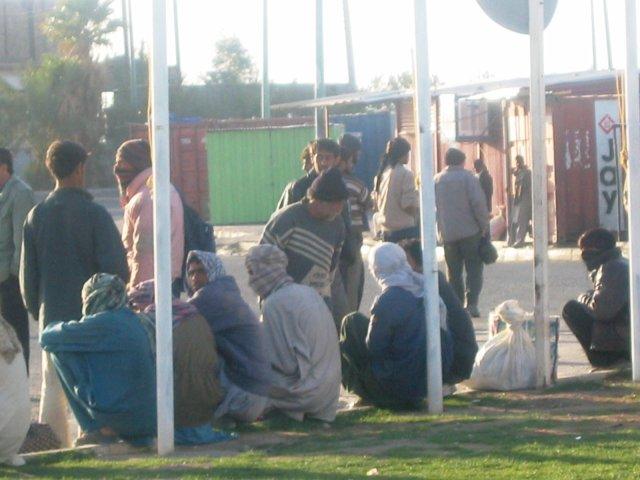 Uchodźcy z Afganistanu w mieście Bam, Iran, fot. Jakub Gajda