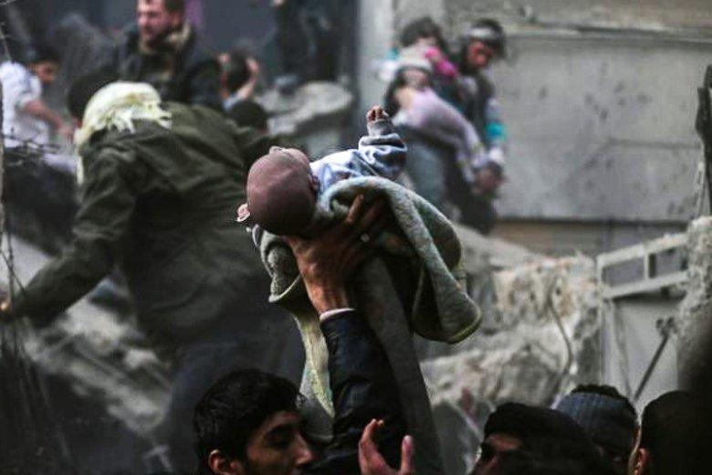 Wojna domowa w Syrii nie oszczędza nikogo i niczego, cierpią także najmłodsi.