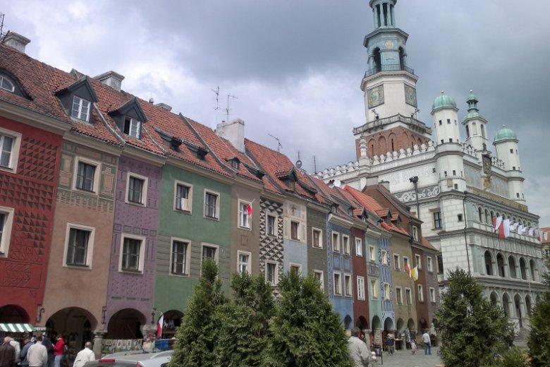 Poznań nie przytłacza jak Warszawa