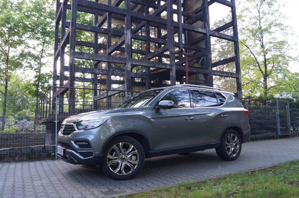 SsangYong Rexton to bardzo komfortowy SUV od koreańskiego producenta.