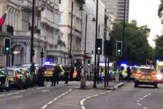 Dwoje Polaków zostało rannych w wypadku w Londynie, który początkowo wielu brało za zamach terrorystyczny.