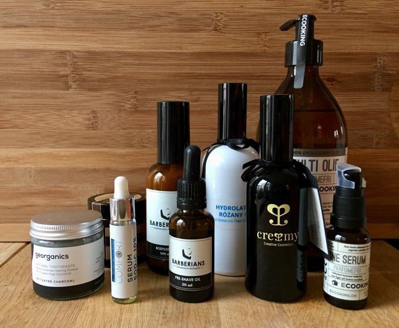 Jak się postarasz, to znajdziesz kosmetyki zapakowane w szklane flakony z minimalną dozą plastikowych nakrętek lub atomizerów.