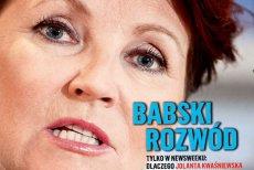 """""""Newsweek"""" wyjaśnia dlaczego Jolanta Kwaśniewska odeszła z Kongresu Kobiet."""