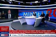 Na antenie TVP Info doszło do szkalowania prezydenta Lecha Wałęsy.