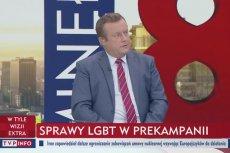 Adrian Klarenbach właśnie dowiedział się, że pary jednopłciowe to nie tylko LGBT.