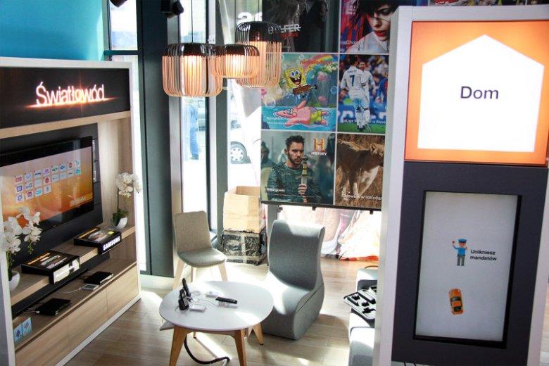 Najnowszy salon Orange został podzielony na trzy strefy tematyczne: Dom, Firma i Rozrywka