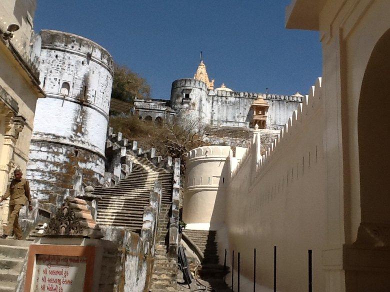 Shatrunjaya Temple, świątynia dżinijska w Palitana, stan Gurajat, Indie