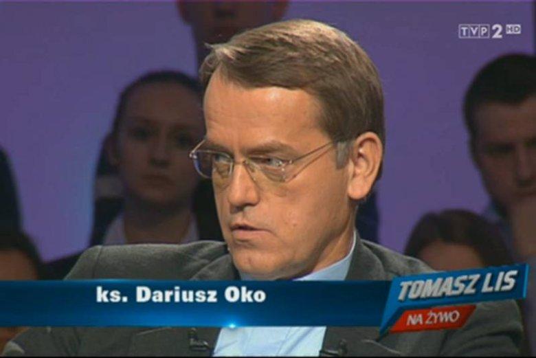 """Ks. Dariusz Oko był gościem programu """"Tomasz Lis na żywo"""""""