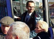 """Poseł Marcin Horała wprowadził Izabelę Pek także do """"dudabusa"""""""